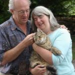 Retired Couple with Cat